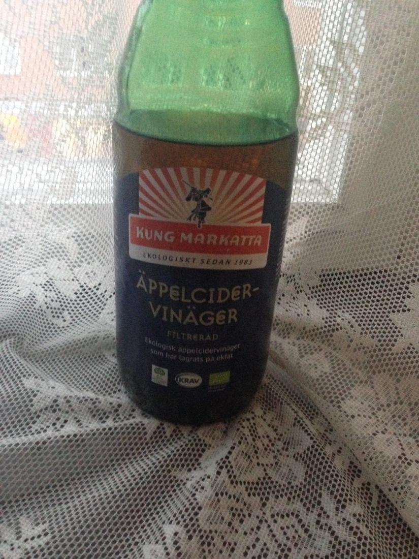 Lugn mage och ren hy med äppelcidervinäger