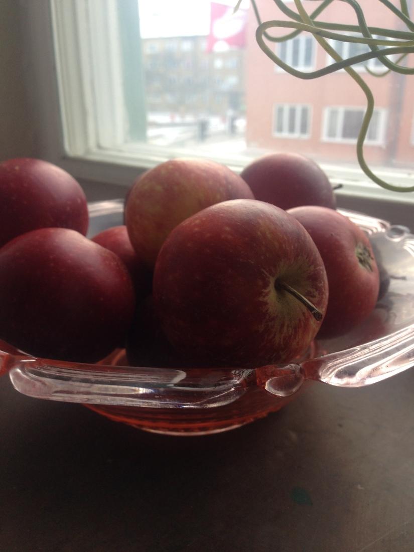 Ät äpplen för en friskhjärna